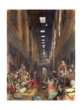 The Bazaar, Cairo, 1872 Giclee Print by John Frederick Lewis