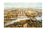 Central Park, Summer, Looking South, 1865 Giclee Print by John Bachman