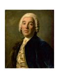 Portrait of the Architect Bartolomeo Francesco Rastrelli (1700-71) Giclee Print by Pietro Antonio Rotari