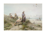 Kite Flying Giclee Print by Jan Mari Henri Ten Kate