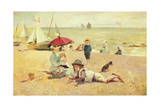 Rest by the Sands Giclee Print by A.M. Roisi