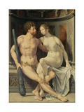 Hercules and Deianeira, 1517 Giclee Print by Jan Gossaert
