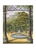 The Trellised Gardens at the Villa Gallo, 1824 Giclee Print by Marianne D'Esterhazy