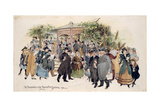 The Promenade in Montpellier Gardens Giclee Print by Herbert P. Templar