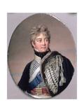 Portrait Miniature of George IV (1762-1830) 1805 Giclee Print by Henry Bone