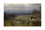 Siberia, 1894 Giclee Print by Apollinari Mikhailovich Vasnetsov