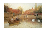 Marlow Ferry Giclee Print by Frederick Walker