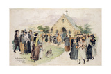 The Magnesia Well, Harlow Carr Giclee Print by Herbert P. Templar