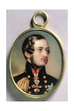 Portrait Miniature of Prince Albert, 1842 Giclee Print by Henry Pierce Bone