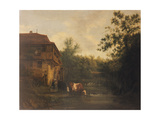 A Dutch Farm Giclee Print by Isack van Ostade