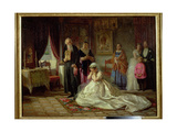Before the Wedding, 1874 Giclee Print by Firs Sergeevich Zhuravlev