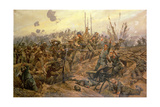 The Battle of the Somme Giclee Print by Richard Caton Woodville II