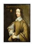 Portrait of Algernon Sydney (C.1622-83) Giclee Print