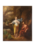Juno and Argus Giclee Print by Arnold Houbraken