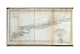 T.1608 Map of the Course of the Oroonoko from the Mouth of the Rio Sinaruco to Angostura, from… Giclee Print by Friedrich Alexander, Baron Von Humboldt
