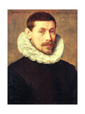 Portrait of a Man, Aged 32, 1591 Giclee Print by Frans II Pourbus
