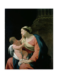 Madonna and Child, 17th Century Giclee Print by Simon Vouet