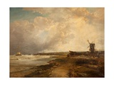 After a Thunderstorm on the Sussex Coast, 1882-83 Giclee Print by James Webb