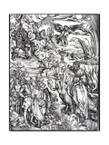 The Revelation of St. John the Divine or the Apocalypse Giclee Print by Albrecht Dürer or Duerer