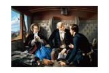 First Class - the Meeting Giclee Print by Abraham, Solomon