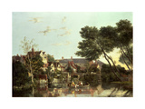 Norwich River, Afternoon, C.1812-19 Giclee Print by John Crome