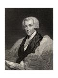 William Howley, Engraved by W. Holl, from 'National Portrait Gallery, Volume II', Published C.1835 Giclee Print by William Owen