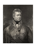 Sir Thomas Picton, Engraved by Peltro William Tomkins (1760-1840), from 'National Portrait… Giclee Print by Sir William Beechey