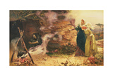 Visit to the Witch, 1882 Giclee Print by Edward Frederick Brewtnall