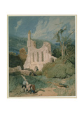 Byland Abbey, Yorkshire, C.1809 Giclee Print by John Sell Cotman