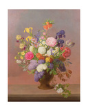 Spring Flowers in a Vase Giclee Print by Johannes Ludwig Camradt