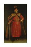 The Russian Ambassador Piotr Ivanowitz Potemkin, 1681 Giclee Print by Don Juan Carreno de Miranda