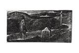 Colinet's Fond Desire to Know Strange Lands, Illustration from Dr. Thorton's 'The Pastorals of… Giclée-Druck von William Blake