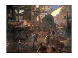 'The Wealth of England: the Bessemer Process of Making Steel', 1895 Giclee Print by William Holt Yates Titcomb