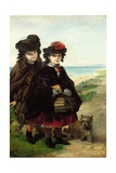 Off to School, 1860 Giclee Print by Thomas Musgrave Joy