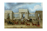 Hyde Park Corner Giclee Print by James Pollard
