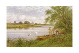 Ladies in a Punt Giclee Print by Alfred, Jr. Glendening