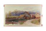 Landscape with a Farm Giclee Print by Myles Birket Foster