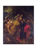 The Betrayal of Christ Giclée-Druck von Sir Anthony Van Dyck