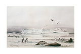 Antarctic Landscape Giclee Print by Edward Adrian Wilson