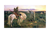 The Knight at the Crossroads, 1882 Giclee Print by Victor Mikhailovich Vasnetsov