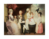 A Family Group Giclee Print by John Downman