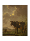 Milkmaid with Cattle Giclee Print by Aelbert Cuyp