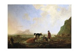Herdsmen with Cows, C.1645 Giclee Print by Aelbert Cuyp