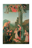 The Adoration of the Shepherds Giclée-tryk af Tommaso Di Stefano Lunetti