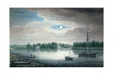 Yelagin Island, St. Petersburg, by Night Giclee Print by Maksim Nikiforovich Vorobiev
