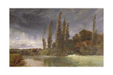 Iffley Mill, 1884 Giclee Print by George Vicat Cole
