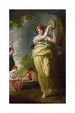 Allegra or Mirth Giclee Print by George Romney
