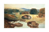 Greta Bridge, Yorkshire, 1810 Giclee Print by John Sell Cotman