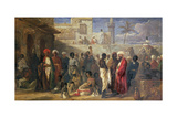 The Slave Market at Cairo, 1841 Giclee Print by William James Muller