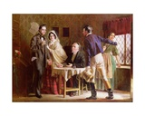 A Wedding at Gretna Green Giclee Print by Jerry Barrett
